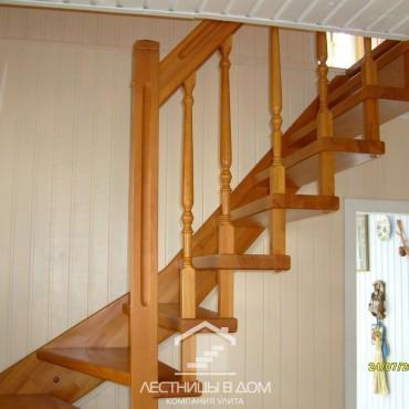 Компактная лестница для дачи, г. Ногинск